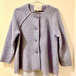 Button Up Wool Jacket